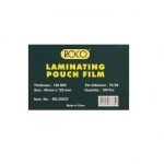 Liminater, ROCO, Thermal Laminating Films, 125 Micron, (80 × 120 mm),Clear, 100 PC/Pack
