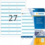 Labels, HERMA 4419, Name labels, 63.5 x 29.6 mm, White