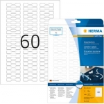 Labels, HERMA 5116, Jewelry labels, 49 x 10 mm, white