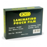 Liminater, ROCO, Thermal Laminating Films, 125 Micron, (80 × 110 mm),Clear, 100 PC/Pack