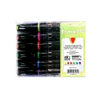 Highlighter Marker, LiNEPLUS, 1 - 5 mm, Chisel Tip, 6 Colors/Box