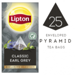 LIPTON Exclusive Selection Classic Earl Grey Tea (6x25x1.8g) pyramid CASE