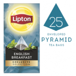 LIPTON Exclusive Selection English Breakfast (6x25x60g) pyramid CASE