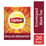 Lipton English Breakfast Black (16x20 Enveloped teabags) CASE