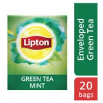 Lipton Green Tea Mint (16x20 Enveloped teabags) CASE