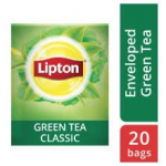 Lipton Green Tea Pure (16x20 Enveloped teabags) CASE
