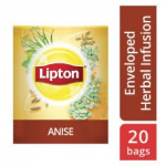 Lipton Herbal Infusion Anise (16x20 Enveloped teabags) CASE