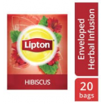 Lipton Herbal Infusion Hibiscus (16x20 Enveloped teabags) CASE