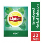 Lipton Herbal Infusion Mint (16x20 Enveloped teabags) CASE