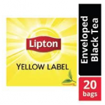 Lipton Yellow Label Black (16x20 Enveloped teabags) CASE