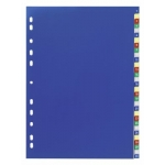 Divider, DURABLE, Color Index Divider, PVC, A4,1-31 Numbers