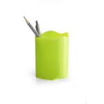 Desk Organizer, DURABLE, Pen Cup, Single pen Hole, Plastic, Light Green