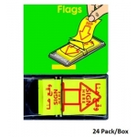 "Memo Paper, PRIMA, Tape Flags ""Sign Here"", 24 Pack/Box"