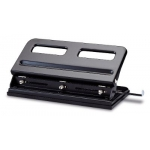 Paper Puncher, KW-trio, Adjustable Heavy Duty 3-Hole Punch, 30 Sheets