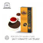 Basilur, Mango & Pineapple Tea Capsule (10 x 10 x 2 gm) case