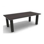 Table, Coffee Table, Wood, Size: 120W x 60D x 45H CM, Black/Sliver