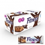 Snack, Nestle, Fitness Chocolate Cereal Bar (24 Bars x 23.5 g)