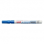 Paint Marker, Uni-Ball, PX-21, Round Tip, 0.8-1.2 mm, Blue