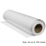 Paper Roll,  Paper roll inkjet premium, 80 GSM, 42 cm X 150 Yards, White, A2 - Paper Roll