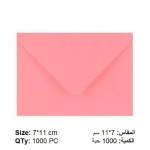 Envelope, Greeting Card Pink Envelopes, 80 GSM, Size: (7 X 11 cm), 1000 PC