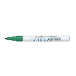 Paint Marker, Uni-Ball, PX-21, Round Tip, 0.8-1.2 mm, Green