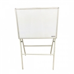 Boards, SIMBA, Magnetic Whiteboard with Stand, (45x60cm), White