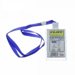 Badges & Holders, KEJEA, Badge Reel ID Card with Rope T-677 V, Plastic, Transparent ​