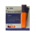 Highlighter Marker, STA, 1 - 5 mm, Chisel Tip, Orange, 10 PC/Box