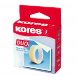 Tape, KORES, Double Sided Adhesive Tape,  30 mm X  5 m, Clear