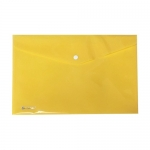 Documents Covers, SIMBA, Documents Bags with Button Click, A4, Yellow, 10 PC/Pack