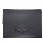 Documents Covers, SIMBA, Expanding File, 12 Pockets with Button,  Black