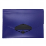 Documents Covers, SIMBA, Expanding File, 12 Pockets with Button, Dark Blue