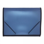 Documents Covers, SIMBA, Expanding File, 12 Pockets with Side Rubber, Blue