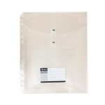 Documents Covers, SIMBA, Documents Bags with Rope and CD Cover, A4, Transparent, 12 PC/Pack