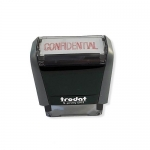 Stamp, Trodat Printy 4911, Self Inking Stamp, CONFIDENTIAL , Red