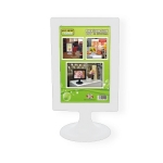 Photo Stand Frame A5 White