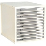 Storage Organizer, ELSOON, 10 Drawers File Cabinet, Plastic